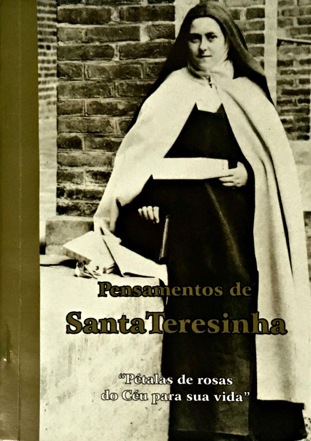 Pensamentos de Santa Teresinha  - Livraria Santa Cruz