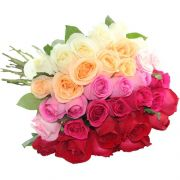 Buquê de Rosas Degrade