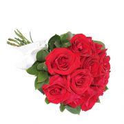 Buquê de 12 Rosas Acetinada