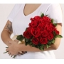 Buquê de 12 Rosas Acetinadas