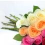 Buquê Degrade de 36 Rosas