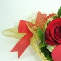 Mini Buquê Dourado de Rosas