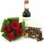 Vinho Dona Dominga e Rosas