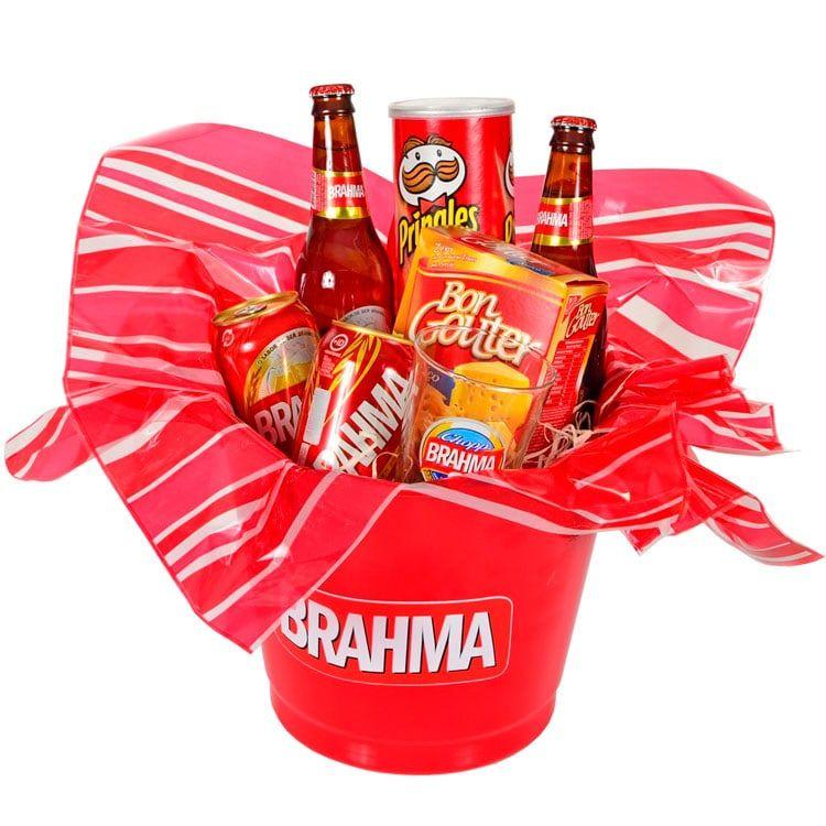 Balde Temático Cerveja Brahma