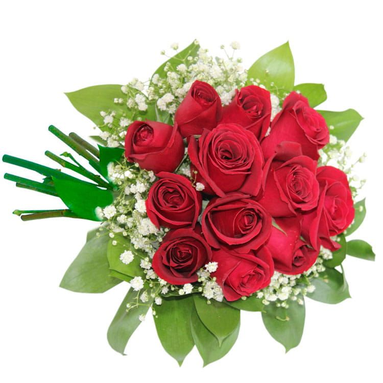 Buquê de Rosas Gipso