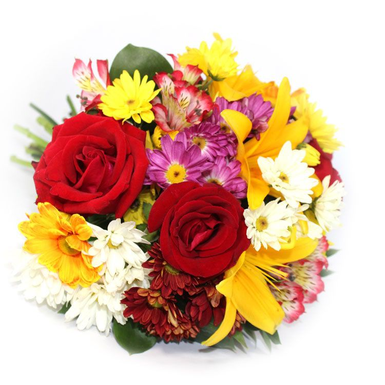 Buquê  Mix de flores nobres