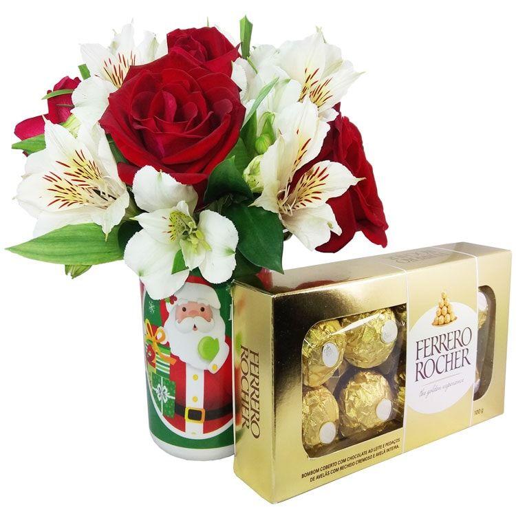 Vaso Flores de Natal