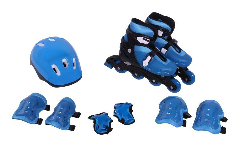 8a0a992c6 Patins Roller Infantil Belfix Azul+kit Proteção M Promoção - AZ Shopping ...