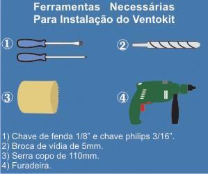 KIT RENOVADOR DE AR  COM SENSOR - VENTOKIT 150S WESTAFLEX