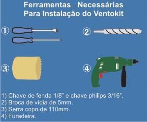 KIT RENOVADOR DE AR - VENTOKIT 150NM WESTAFLEX