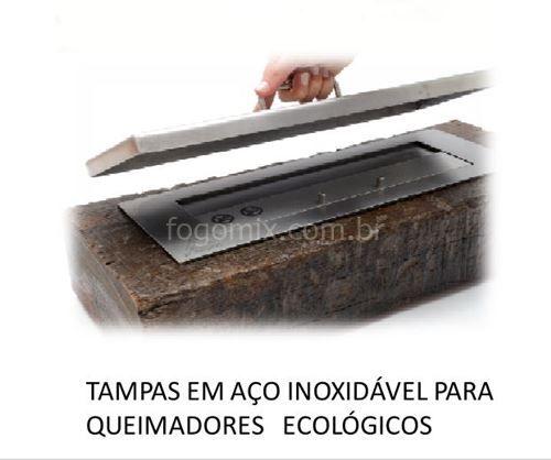 TAMPA PARA QUEIMADOR ETANOL LINHA PLUS