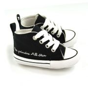 E> TENIS BEBE PRETO MY FIRST ALL STAR CONVERSE 18981