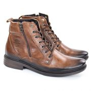 BOTA COTURNO 180906-06 MARROM BROWN JOURNEY PEGADA 21895