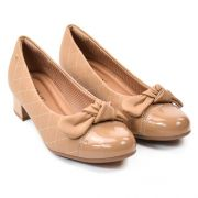 SAPATO FEM 141098 NATURAL BEGE NUDE NAPA PICCADILLY 89301
