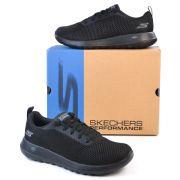 TÊNIS MASC GOM-54601-BBK GO WALK MAX- EFFORT SKECHERS 91323