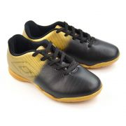 E>TENIS FUTSAL JUNIOR 0F82045 INDOOR PRETO UMBRO 19197