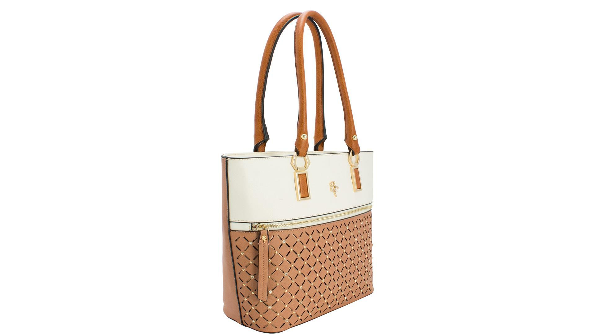 BOLSA 32.82146 1 BE FOREVER TAUPE/CREME/NEW MALTE 18367 OK