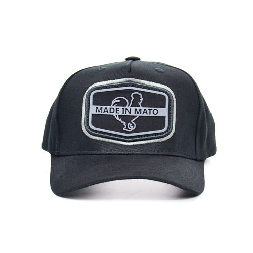 BONÉ B1577 SNAPBACK OPEN PRETO MADE IN MATO
