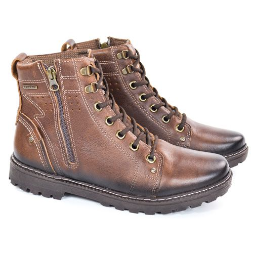 BOTA COTURNO 181052-01 MARROM BROWN JOURNEY PEGADA 21897