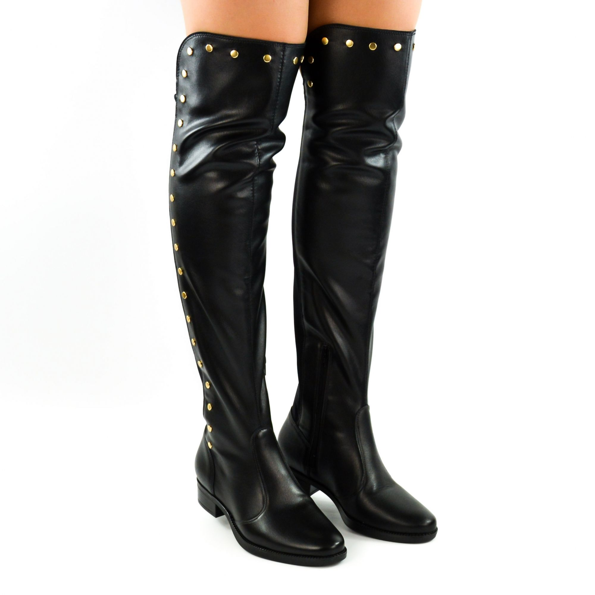 E> BOTA OVER THE KNEE 3050.116 PRETO VIZZANO 17097