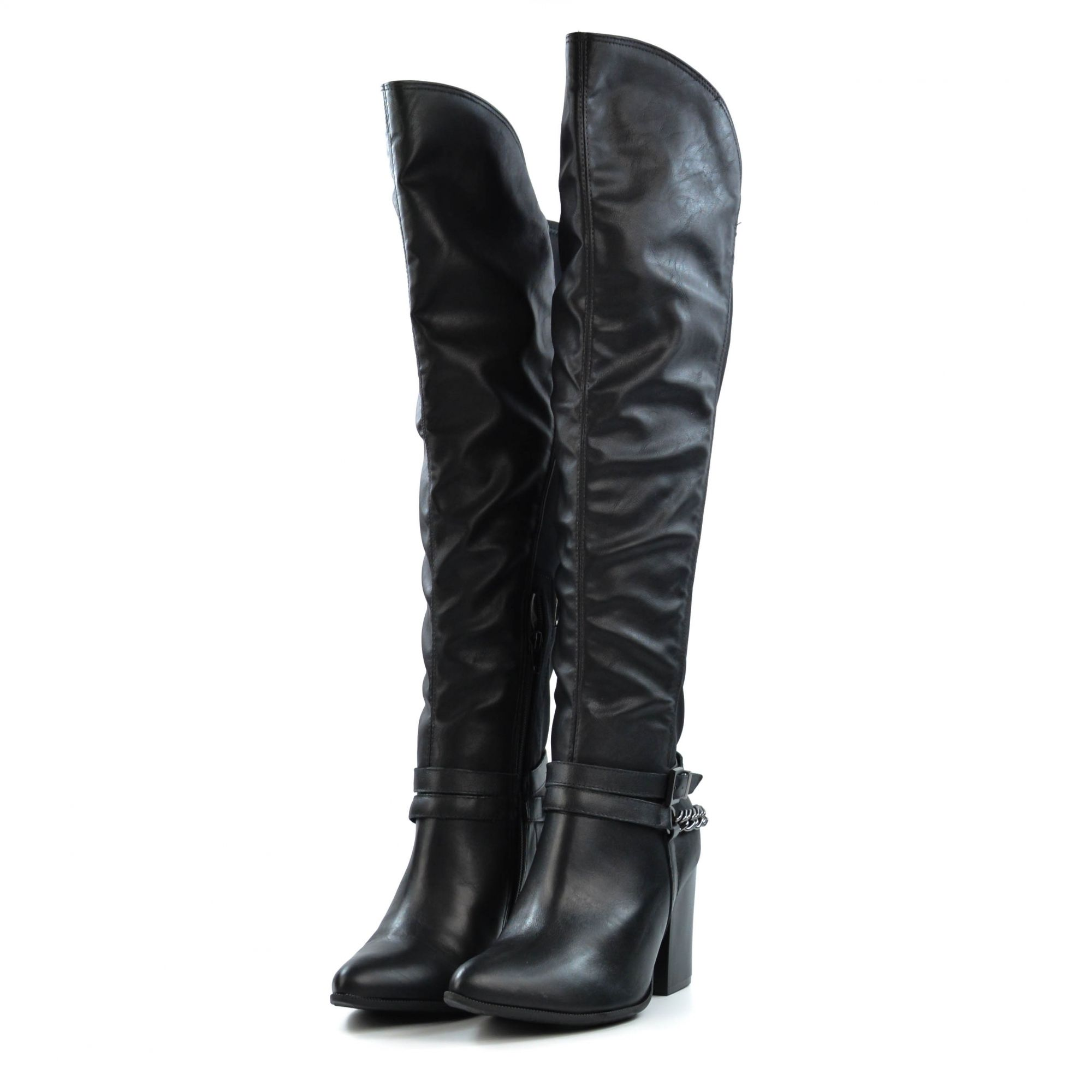 BOTA OVER THE KNEE 39 PRETA RAMARIM 1516106-08572 - Morga Modas 1b9ec6717ebc6