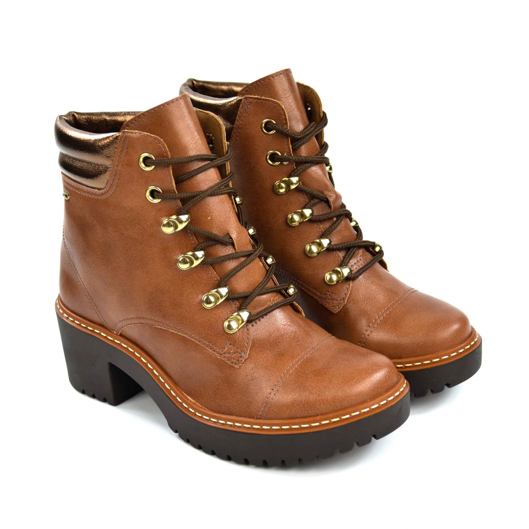 Bota tratorada canela/branze Dakota B9921 - 017538