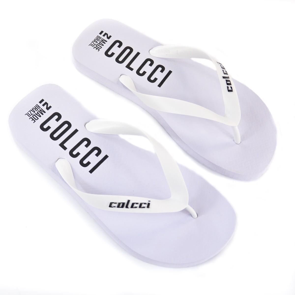 CHINELO MASC 80601.00703 BRANCO NEON COLCCI 92820