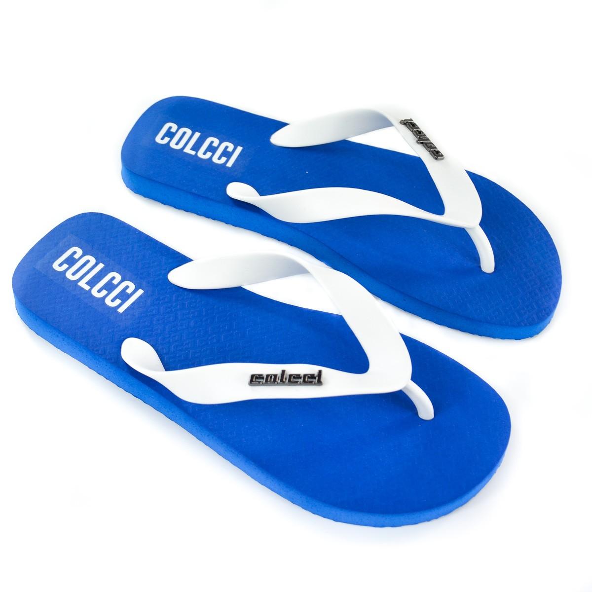 CHINELO MASC 80601.00736 AZUL ULTRA BLUE METAL COLCCI 92825