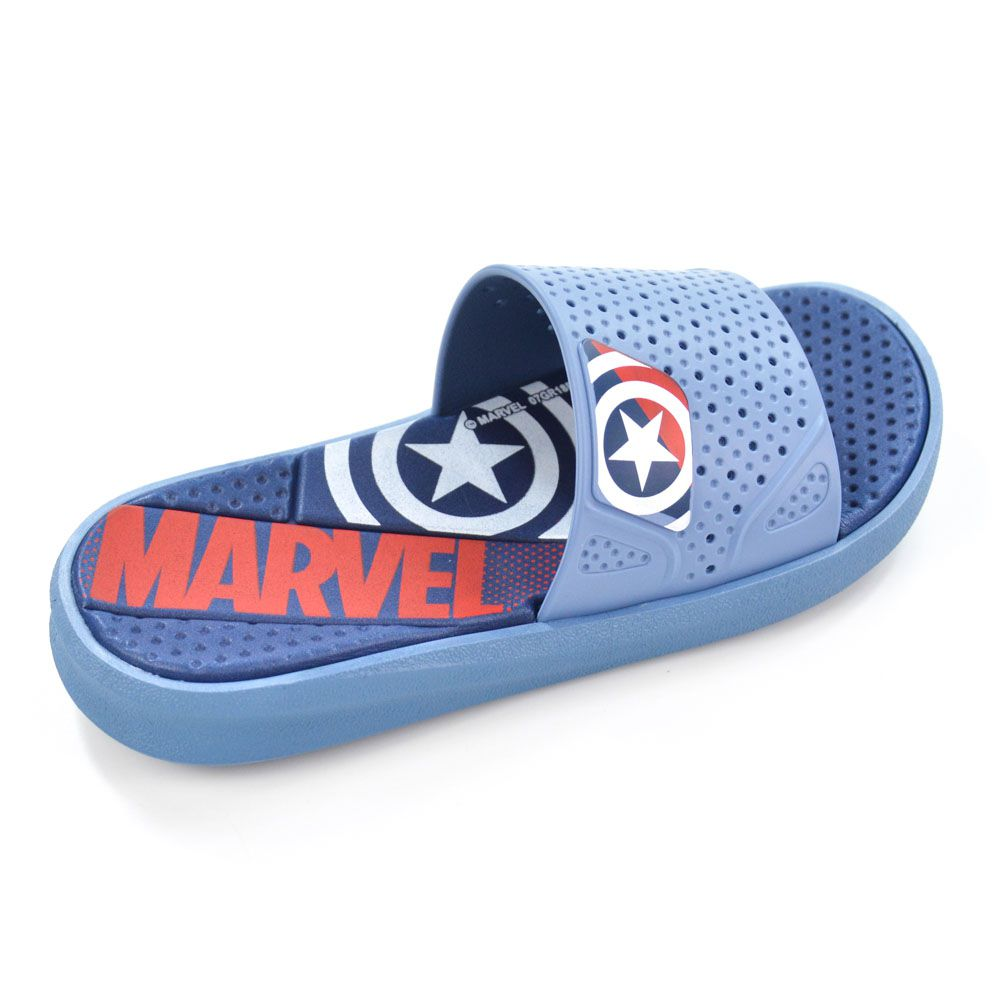 E> CHINELO MENINO 21906 EVOLUTION AZUL MARVEL GRENDENE 19187