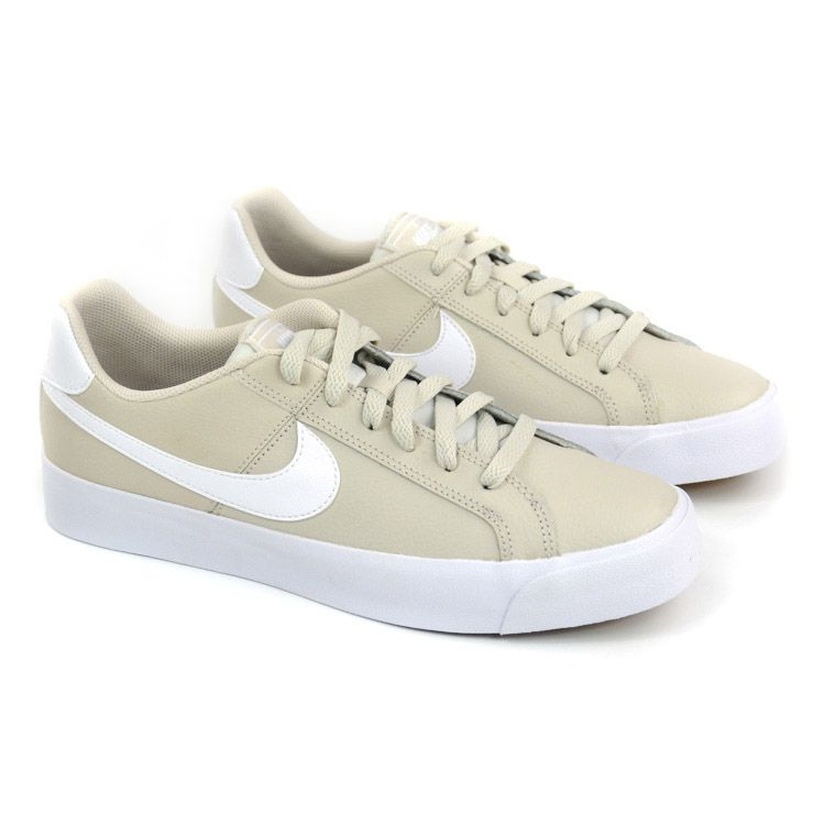 E> TENIS CASUAL COURT ROYALE AC BRANCO OFF NIKE 20843