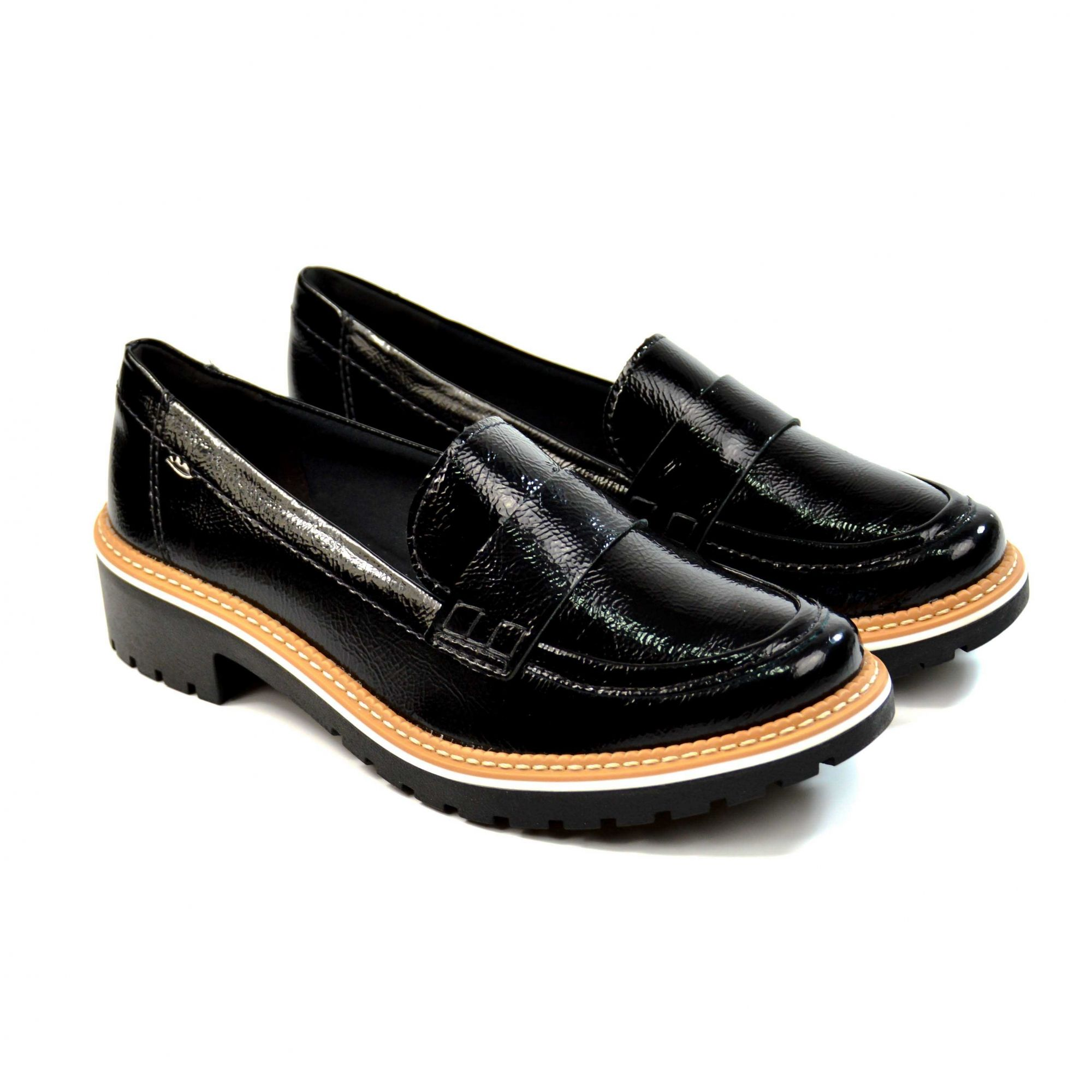 MOCASSIM B8462 PRETO FOLLOW DAKOTA 15802