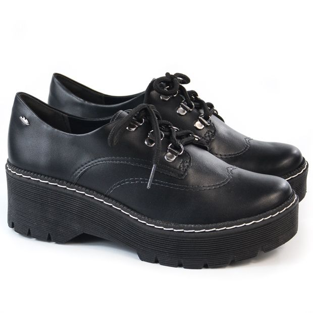 OXFORD FEM G2573 PRETO TRATORADO DAKOTA 91928