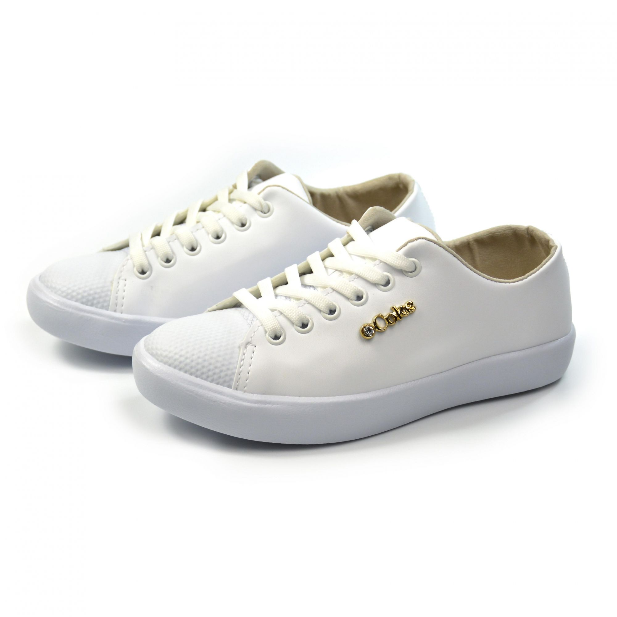 TENIS LUXOR LOW BRANCO CC1376_4 COCA-COLA 16957