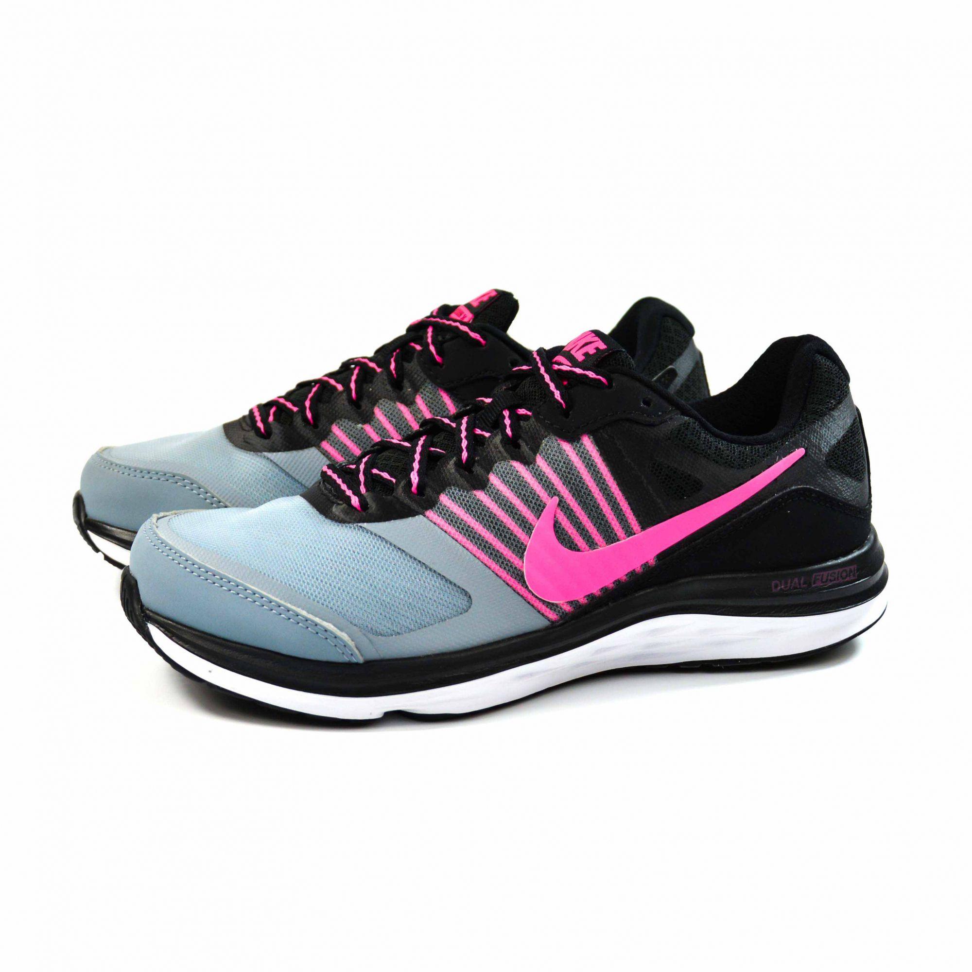 Tenis Dual Fusion X Msl Cinzapretorosa Nike 9130