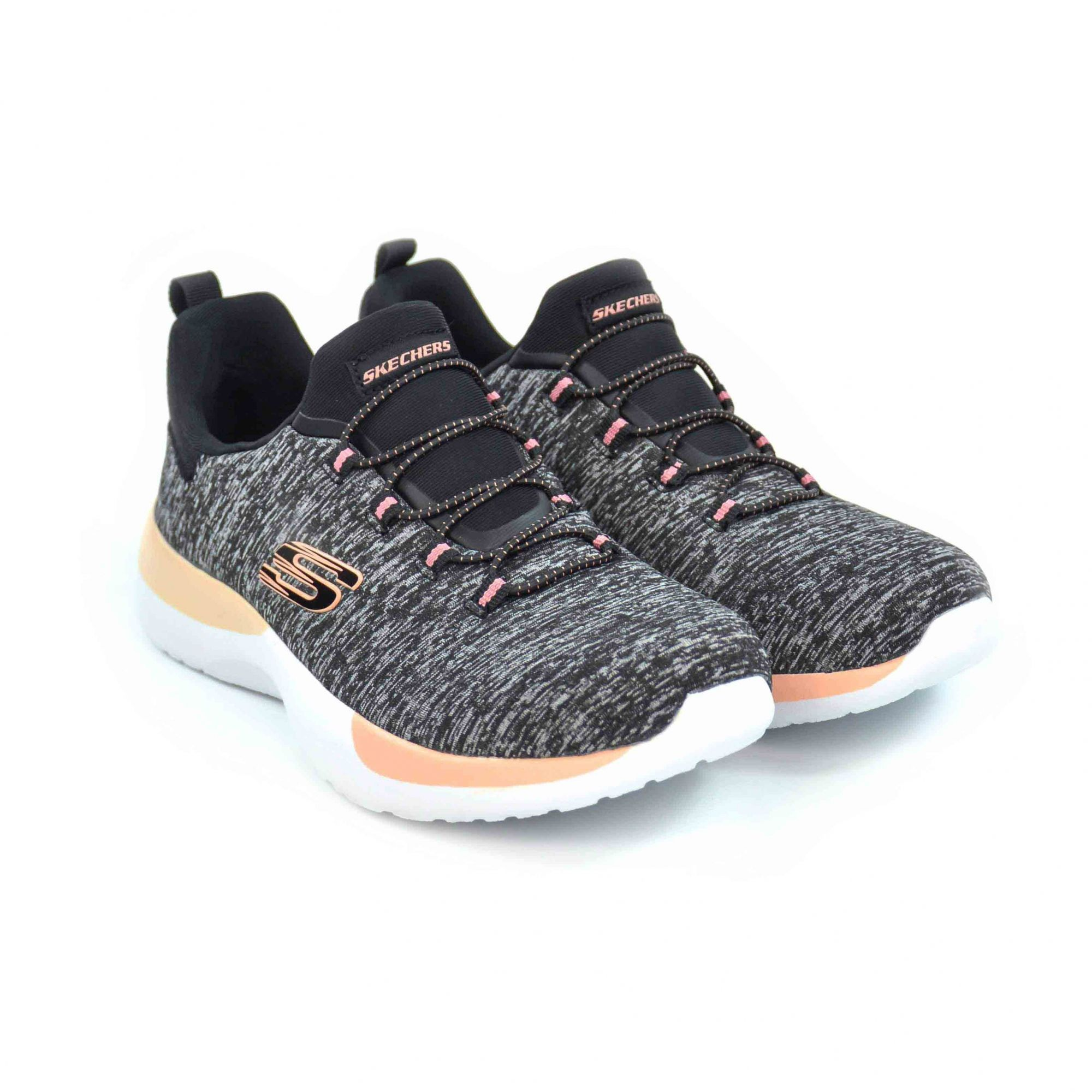 TENIS FEM DYNAMIGHT BREAKTHROUGH MESCLA SKECHERS 18291