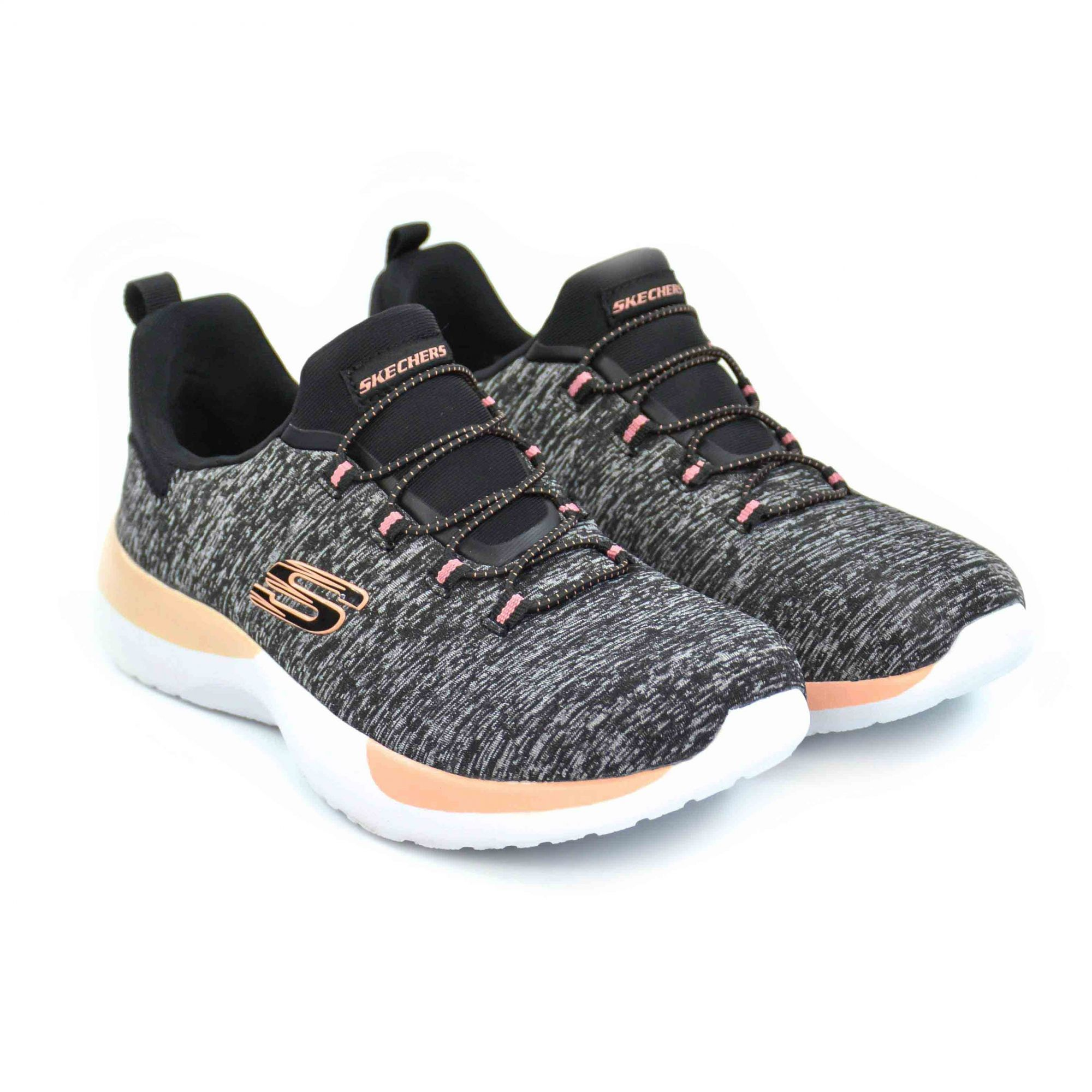 E> TENIS FEM DYNAMIGHT BREAKTHROUGH MESCLA SKECHERS 18291