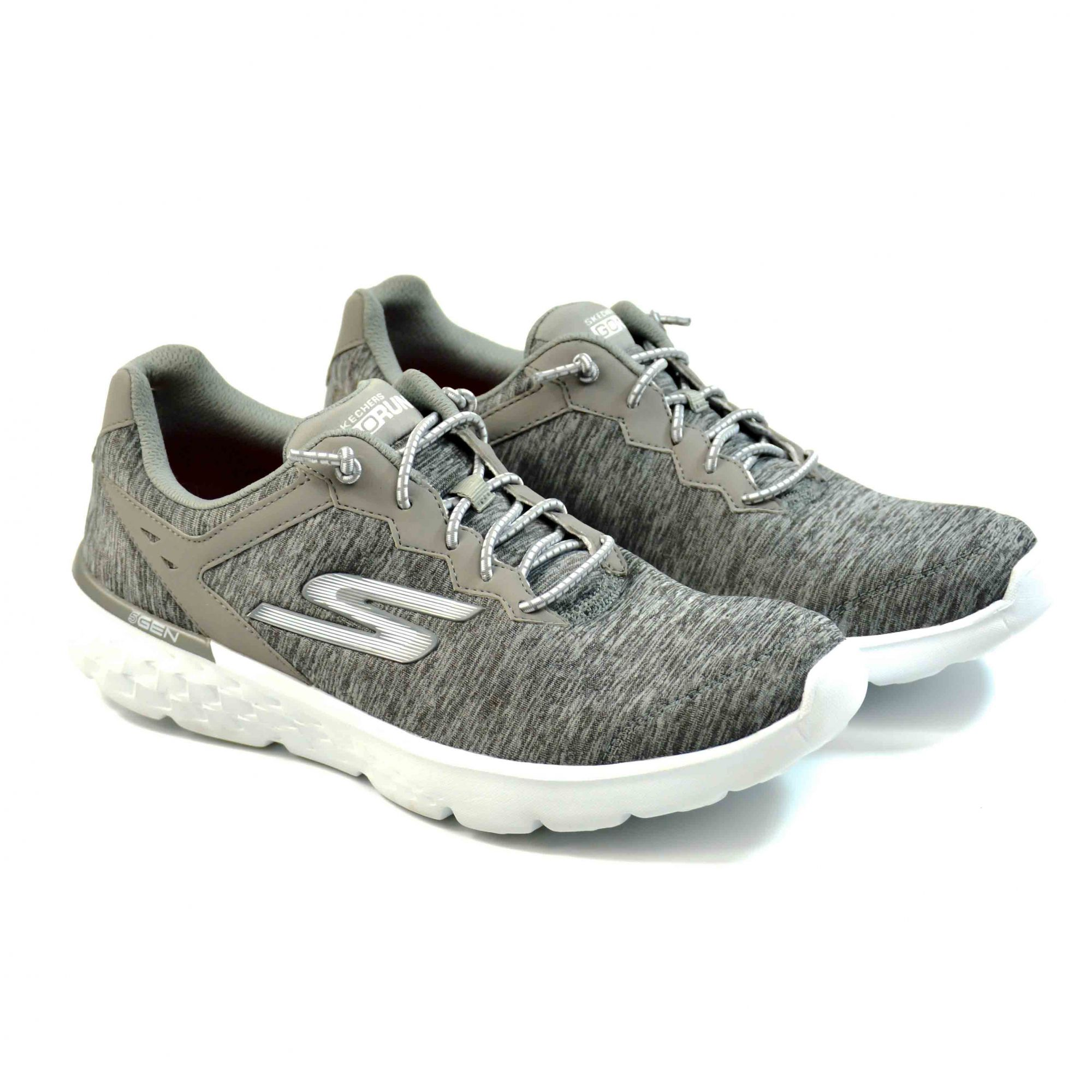 b43f8d3205 E  TENIS FEM GOW-14809-GRY GO RUN 400 SWIFTLY SKECHERS 15352 - Morga ...