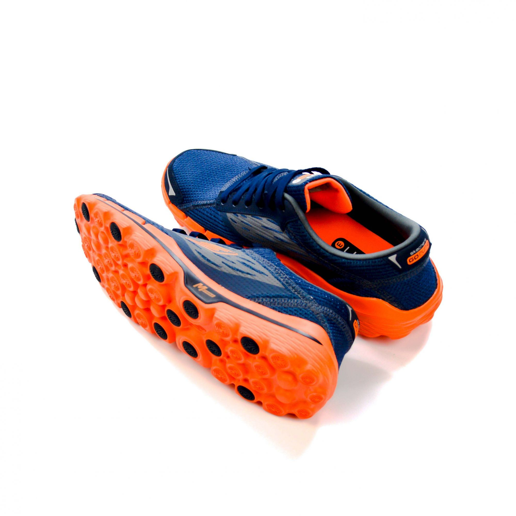 TÊNIS ESPORTIVO 39 MASCULINO SKECHERS GO RUN 2 MARINHO/ORANGE - 06517