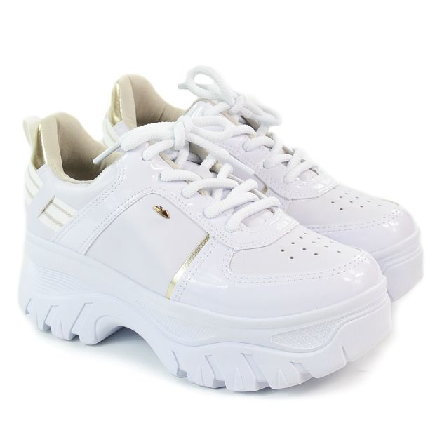 TÊNIS FEM G2502 BRANCO DAD SNEAKERS DAKOTA 91591