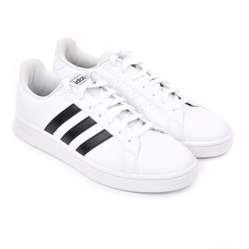 TÊNIS GRAND COURT BASE BRANCO PRETO 38 AO 43 ADIDAS 89731