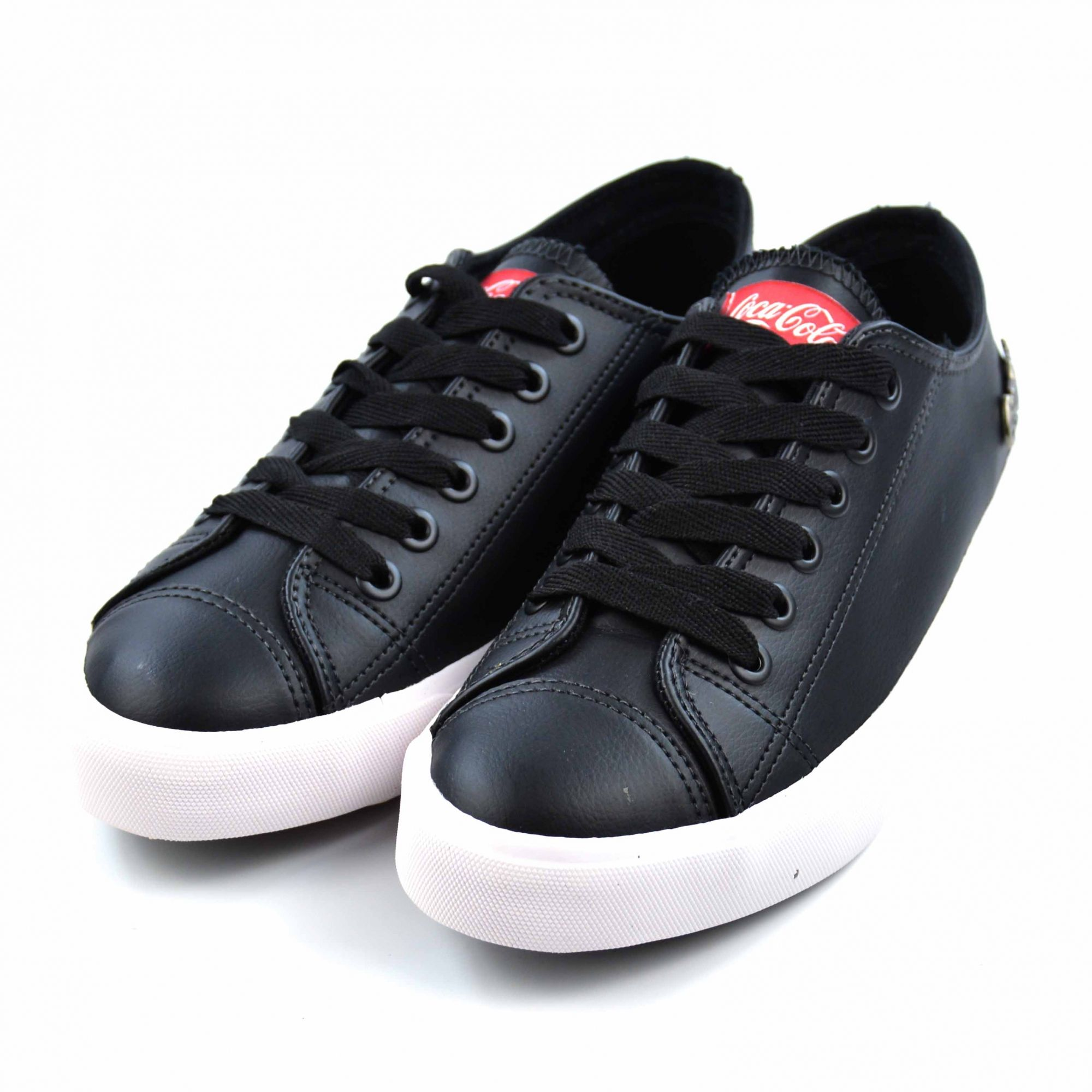 E> TENIS BASKET FLOATER LOW PRETO 0887 COCA-COLA 13814