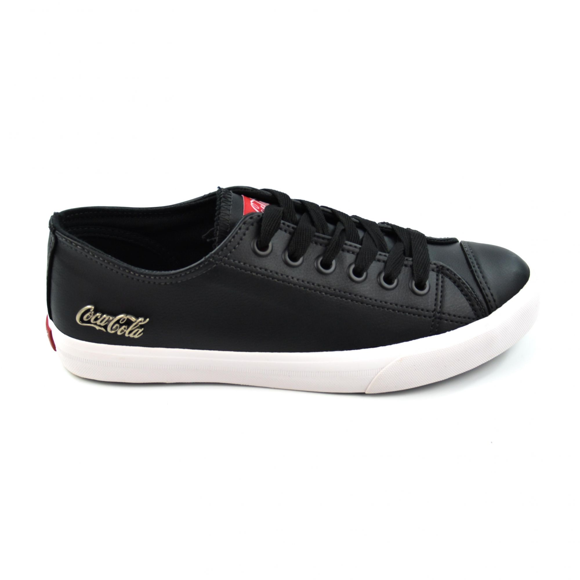 TENIS BASKET FLOATER LOW PRETO 0887 COCA-COLA 13814