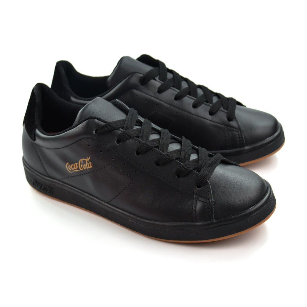 TENIS MASC SEVEN CC1525_22 ALL BLACK COCA-COLA 18967