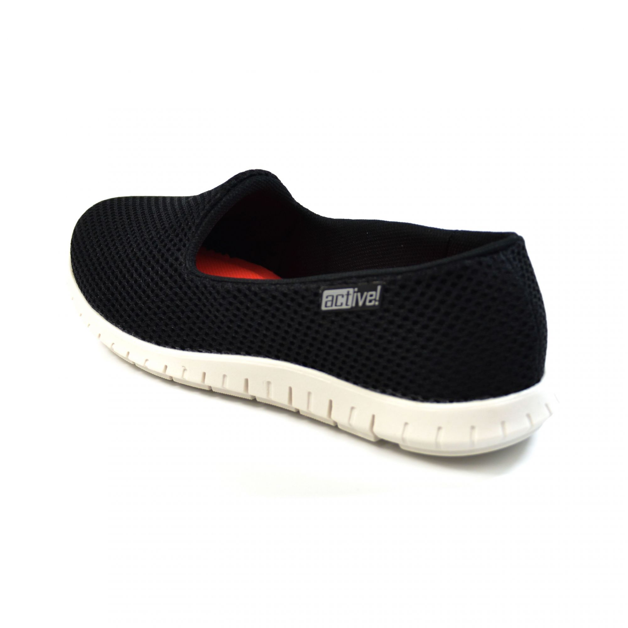 E> TENIS SLIP ON 4202.100 PRETO BEIRA RIO ACTIVE 16848