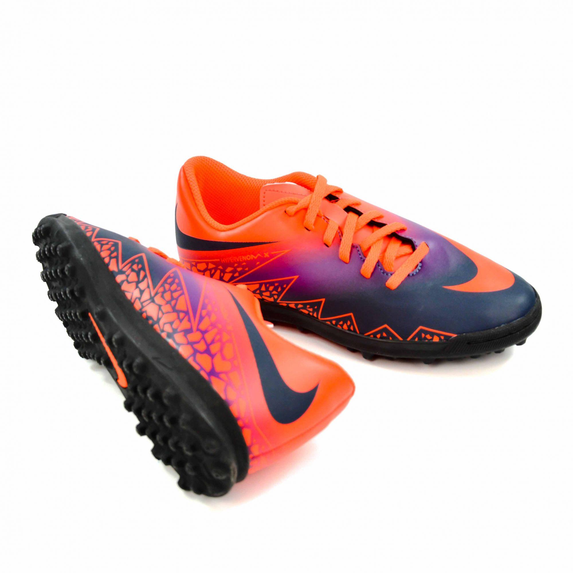 12b798db5d5c2 Nike TÊNIS SOCIETY JR HYPERVENOM PHADE II TF NIKE - 16340