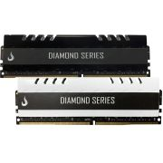 Combo 2x Memoria Ram DDR4 8GB 2400MHZ Diamond - Preta /  Branca