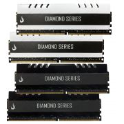 Combo 4x Memoria Ram DDR4 8GB 3000MHZ Diamond - Preta /  Branca