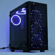 Gabinete Rise Mode Glass 02 - 6 Fans