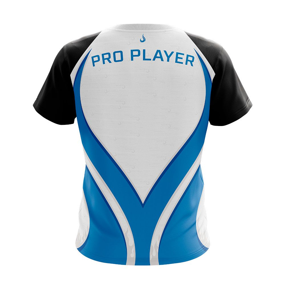 Camiseta Rise Gaming - Dryfit Rise Mode Azul