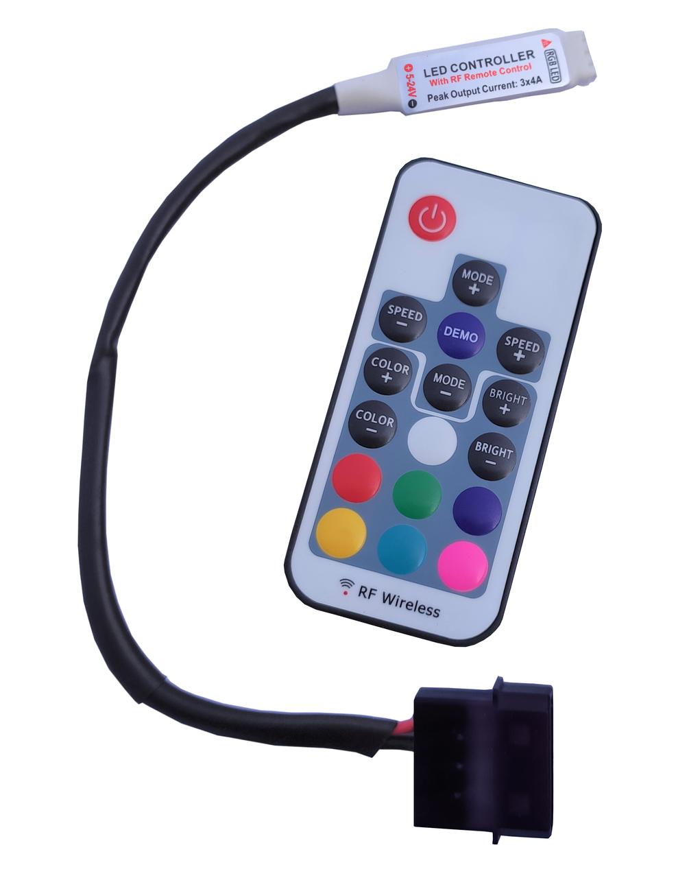 Controlador RGB 4p 12v Rise Mode
